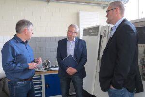 Aktion vor Ort: MdL Thomas Schnelle besucht das Berufskolleg in Erkelenz