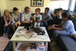 Aktion vor Ort: Interview mit Rüdiger Scholz, MdL im Radioworkshop