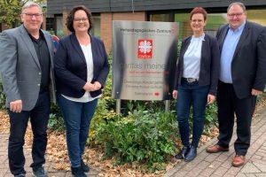 Aktion vor Ort: MdL Andrea Stullich (CDU) zu Gast bei Förderschule in Rheine