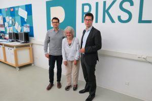 Aktion vor Ort: MdL Martin-Sebastian Abel (GRÜNE) besucht das PIKSL Labor