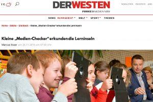 Aktion vor Ort: MdL Michael Hübner (SPD) besuchte in der Stadtbücherei Gladbeck eine Lese- und Medienförderreise