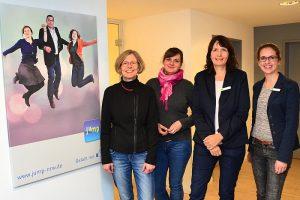 Aktion vor Ort: MdL Regina Kopp-Herr (SPD) besuchte das Haus Neuland in Bielefeld-Sennestadt