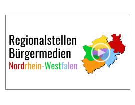 Regionalstellen Bürgermedien in NRW