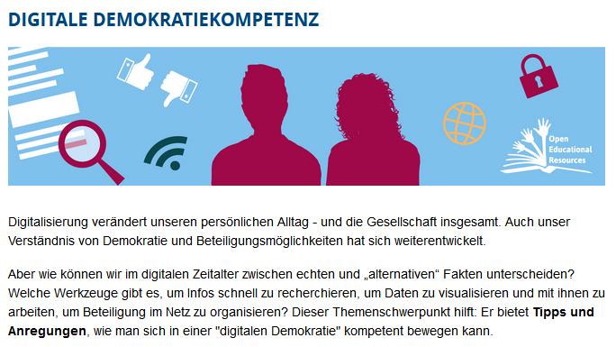 Screenshot der Webseite www.pb.nrw.de/digidem