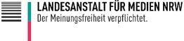 Logo Landesanstalt für Medien NRW.